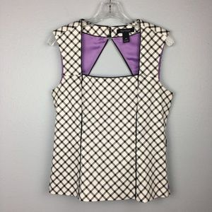 BEAUTIFUL ALMOST NEW WHBM BLOUSE SIZE 10